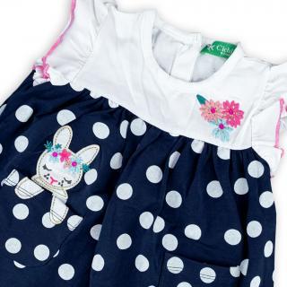 Бебешка рокличка Точици