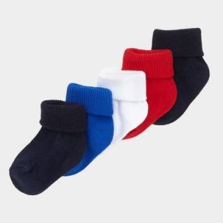 Бебешки чорапки Цветове 5бр.