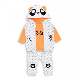 Бебешки комплект 3 части Панда