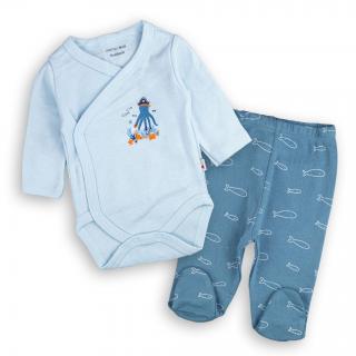 "Бебешки комплект ""Октоподче"" 100%памук"