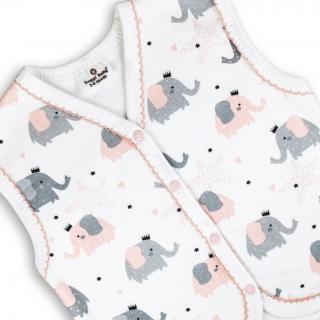 Бебешко елече Слончета 100% органичен памук